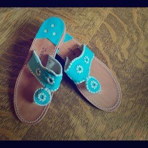 Lovely suede Jack Roger sandals